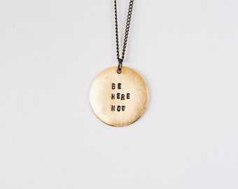 Layering Necklace (Be Here Now)