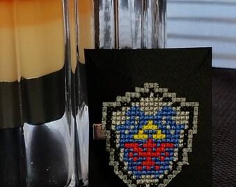 Shield of Hyrule 8 Bit Hair Clip // Legend of Zelda
