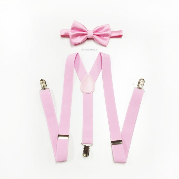 Ladies love pink suspenders not only for themselves but for their gents too. As the ladies know, it takes a real man to show a dash of his feminine side in his attire. And pinks come in a much wider range than many men realize, as you can see by darker pinks like those of the Dark Pink Newport Suspenders .