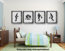 Sports Decor, Gray Chevron, Basketball Wall Art, Teen Room Decor, Basketball Posters, Basketball Signs, Sports Art Prints, Decorations