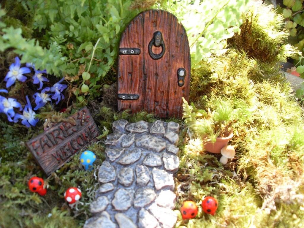 Fairy Door Set Fairy Garden Kit Fantasy Fairy by ...