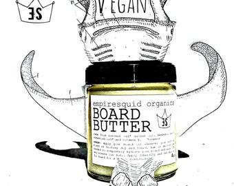 Vegan Butcher Block Oil - Organic Butcher Block Oil - Mineral Oil Free - Vegan Cutting Board Oil - Wood Sealer - Butcher Block Conditioner