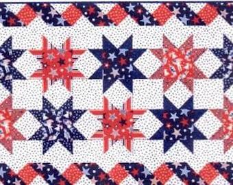 """Fireworks Runner Quilt Kit 24"""" x 66"""""""