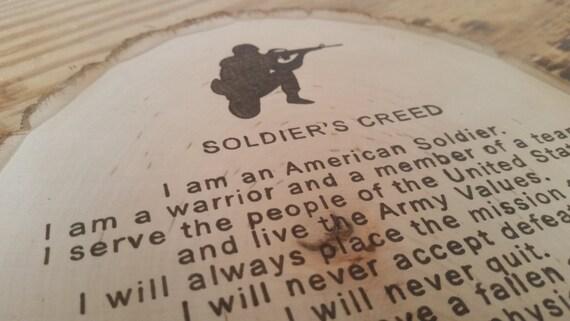 NCO Creed - Army Values
