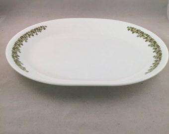 Corelle Spring Blossom Oval Serving Platter