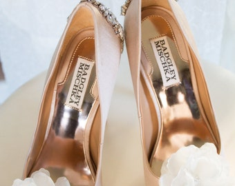 Flower Shoe Clips, Bridal Shoe Clips, Wedding Shoe Clips, Wedding Shoes, Bridal Shoes