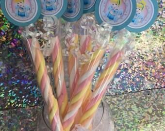 Disney Princess Cinderella Birthday Party Cinderella Party Favor Marshmallow Twist Princess Wand