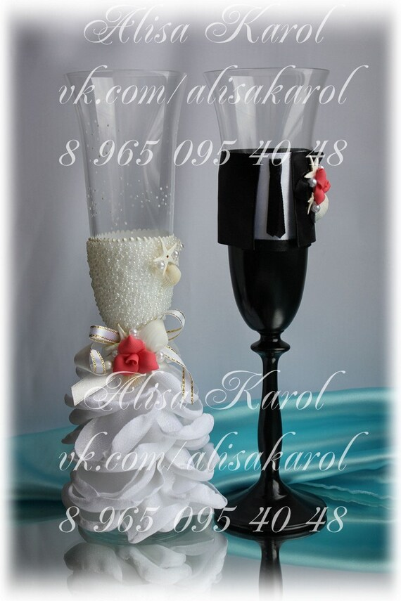 Destination Wedding Gift For Bride And Groom : ... bride and groom with starfish, shells, destination wedding idea
