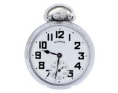 Illinois Bunn Special 60Hours Pocket Watch