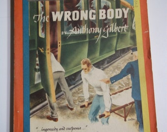 The Wrong Body by Anthony Gilbert Mercury Mystery #193 1950 Vintage Digest