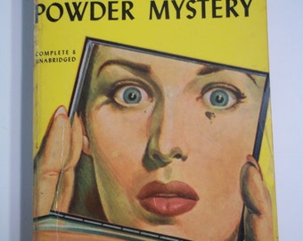 The French Powder Mystery by Ellery Queen Pocket Books #71 1947 Vintage Mystery Paperback