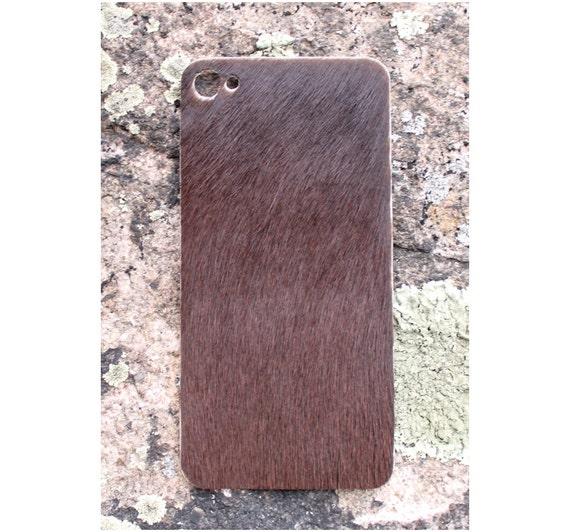 Items Similar To Natural Calf Hair IPhone 4/4s Skin Burnt