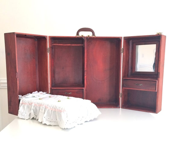 American Girl Wooden Murphy Bed