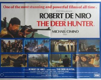 1978 The Deer Hunter Original UK Quad