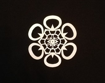 Paper Snowflakes (Rounded Points)
