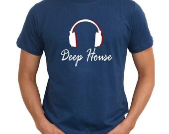 Deep House  Headphones T-Shirt
