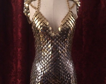 Altercate Scale Dress XS-L