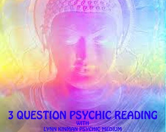 3 Questions Psychic Medium Reading, Psychic Reading Clairvoyant, Spirit Guide, Intuitive Reading, Spiritual Gifts, Mystical Metaphysical