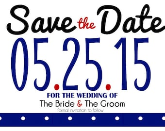 "Custom ""Save the Date"" postcards 4x6 *WEDDINGS*"