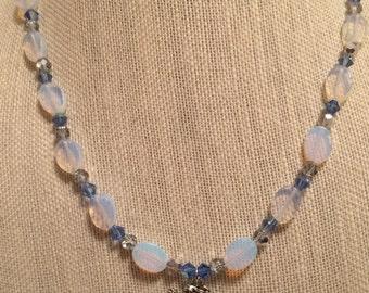 Deep Sea Siren Moonstone Necklace