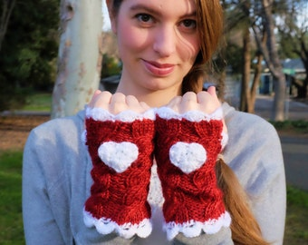 Val-entwine Fingerless Gloves