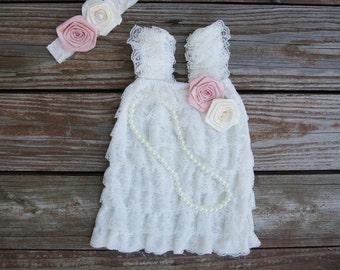 Girls dress.1st Birthday dress. 2nd birthday outfit. Girl wedding dress. Flower girl dress. Party dress.Toddler lace dress.