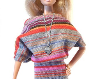 Barbie clothes (dress):  Edua