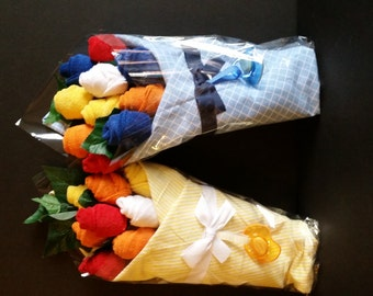 Washcloth Flower Bouquet