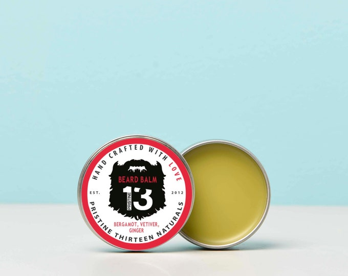 Bergamot, Vetiver and Ginger Beard Balm