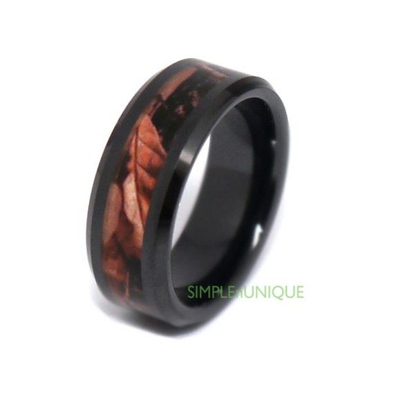 Camo Wedding Rings Mens Wedding Band Ceramic Wedding Rings Camo Unique Mens P
