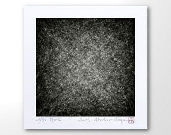 """Abstract Print """"M016"""" Black And White Geometric Art, Art Print, Limited Edition Prints, Contemporary Wall Art, Digital Art Print Abstract"""
