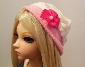 Lace Hat BJD MSD Minifee Doll Clothing 1/4 42-45cm