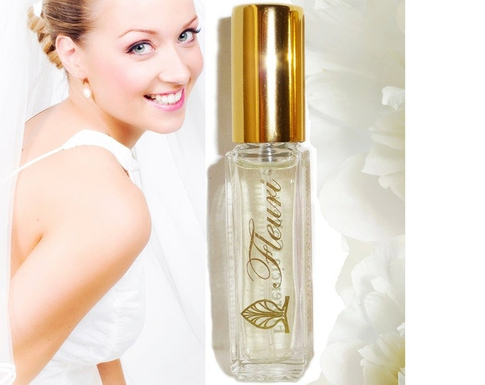 Perfume Fleuri · Florencia Collection · Life is Beautiful, Fresh Floral Light Fragrance for Women, Natural Fragrance Oils Travel Size