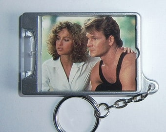Patrick Swayze Dirty Dancing Jennifer Grey movie poster keyring Torch New