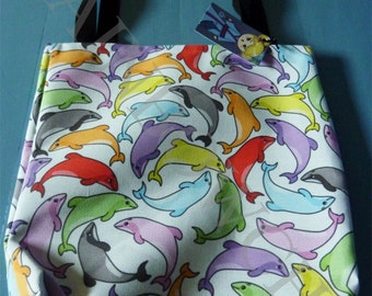 Tote bag - Rainbow Hector dolphins
