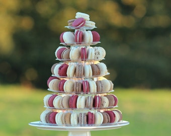 Macaron tower - adjustable height, great quality