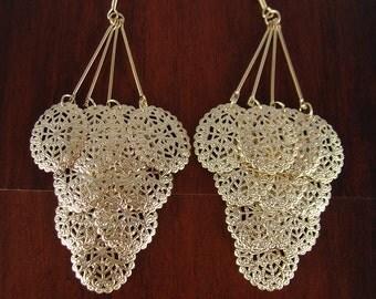 Dangle earrings, dangling earrings, gifts, dangly earrings, long earrings, everyday earrings, bridesmaid earrings, jewelry, LarkKing ER1012