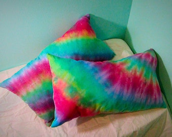 Custom Mini Tie-Dye Pillow