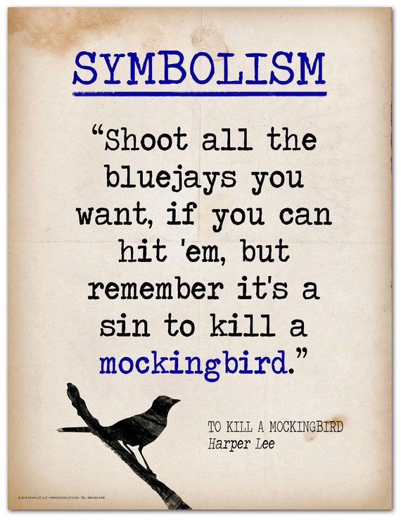 literary elements used kill mockingbird Allusions in to kill a mockingbird, catalogued and discussed: biblical quotations literary allusions in scout brings out at least two elements of mayella's character first.