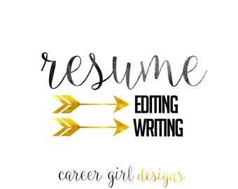 Resume Editing and Writing Help + FREE resume template and cover letter