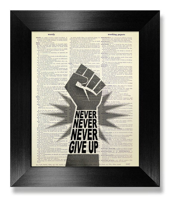 office decor motivational print inspirational sign