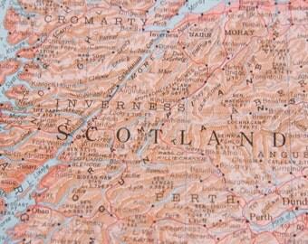1959 Scotland Vintage Map