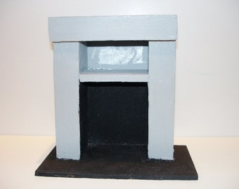Fireplace : gray