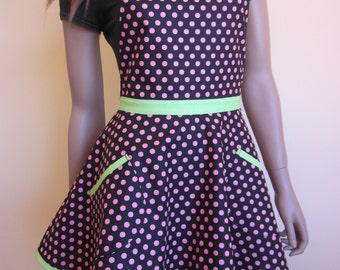 Australian made Flirty 'Peppermint Charm' Apron
