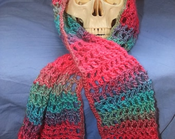 Handmade Multicolored Scarf