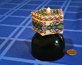 Beaded Dragon Box