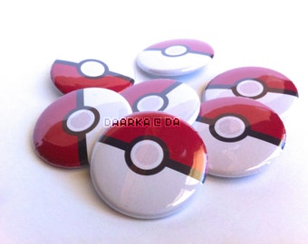 Pokéball (Pin-Back Button)