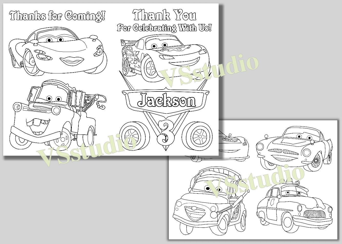 zoom - Thank You Coloring Pages