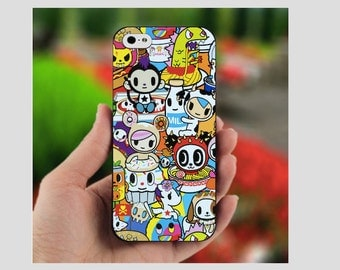 Tokidoki Buffet Apple iPhone 5C 5S 6 6 Plus 7 7 Plus Case Cute Ultra Thin Minimalistic Dye Sublimation