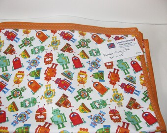 Waterproof changing pad in PUL, play mat, blanket, large size